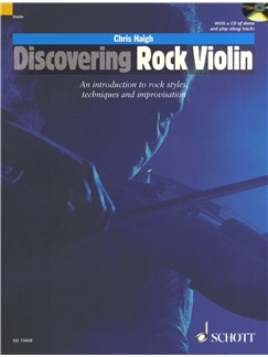 Chris Haigh: Discovering Rock Violin Books and CDs | Violin