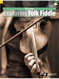 Chris Haigh: Exploring Folk Fiddle (Book/CD) Books and CDs | Violin