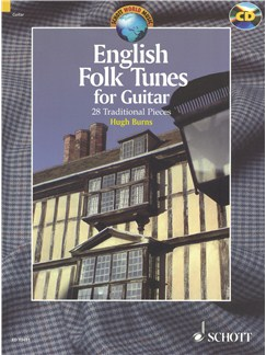 English Folk Tunes For Guitar: 28 Traditional Pieces Books and CDs | Guitar