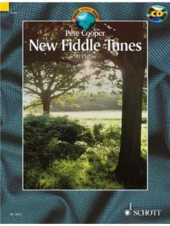 Pete Cooper: New Fiddle Tunes (Book/CD) Books and CDs | Violin
