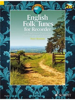 Peter Bowman: English Folk Tunes For Recorder Books | Soprano (Descant) Recorder