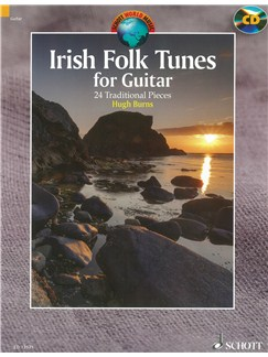 Hugh Burns: Irish Folk Tunes For Guitar Books and CDs | Guitar
