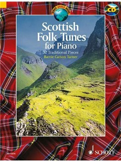 Barrie Carson Turner: Scottish Folk Tunes For Piano (Book/CD) Books and CDs | Piano