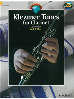 Rudolf Mauz: Klezmer Tunes For Clarinet Books and CDs | Clarinet, Piano Accompaniment
