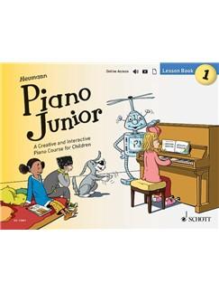 Hans-Günter Heumann: Piano Junior - Lesson Book 1 (Book/Online Media) Books and Digital Audio | Piano
