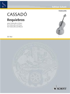 Gaspar Cassado: Requiebros In D Books | Cello, Piano Accompaniment