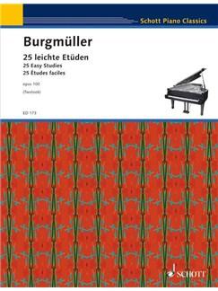 Progressive Studies 25 Op 100 Books | Piano