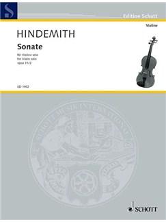 Paul Hindemith: Violin Sonata Op.31 No.2 Books | Violin
