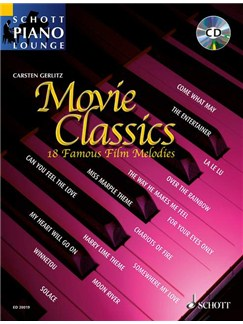 Movie Classics - 18 Famous Film Melodies Books and CDs | Piano