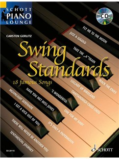 Carsten Gerlitz: Swing Standards Books and CDs | Piano