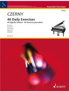Daily Studies 40 Op 337 Ed Mahlert Books | Piano