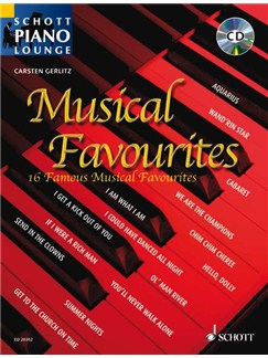 Schott Piano Lounge: Musical Favourites Books and CDs | Piano
