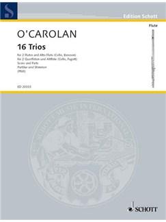 Turlough O'Carolan: 16 Trios Books | Flute (Trio)