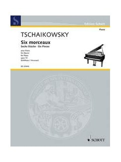 Peter Ilyich Tchaikovsky: Six Pieces Op. 19 Books | Piano