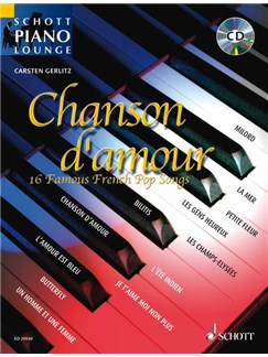 Schott Piano Lounge: Chanson D'amour Books and CDs | Piano