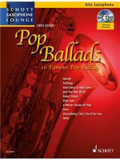 Pop Ballads Books and CDs | Alto Saxophone