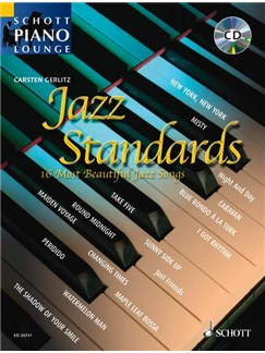 Schott Piano Lounge: Jazz Standards Books and CDs | Piano (with Chord Symbols)