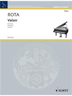 Nino Rota: Valzer Books   Piano