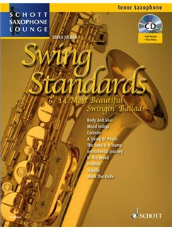 Swing Standards For Tenor Sax Books and CDs | Tenor Saxophone