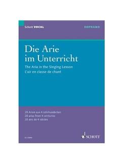 Die Arie Im Unterricht Books | Voice - Female, Piano