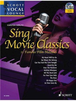 Carsten Gerlitz: Sing Movie Classics Books and CDs | Piano & Vocal