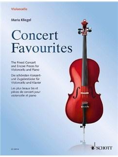 Maria Kliegel: Concert Favourites Books | Cello, Piano