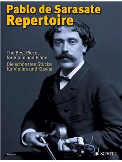 Pablo De Sarasate: Pablo De Sarasate Repertoire Books | Violin, Piano