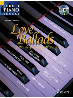 Carsten Gerlitz: Love Ballads Books and CDs | Piano