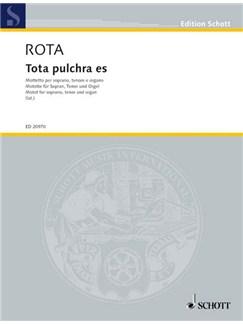 Nino Rota: Tota Pulchra Es Books | Soprano, Tenor, Organ