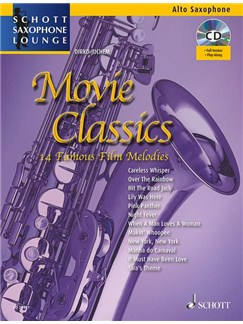 Movie Classics - Alto Saxophone Books and CDs | Alto Saxophone