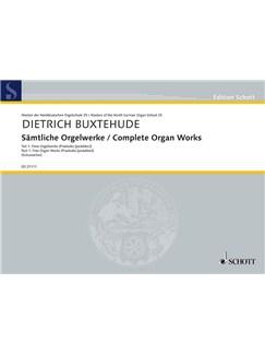 Dietrich Buxtehude: Complete Organ Works - Part 1 Books | Organ