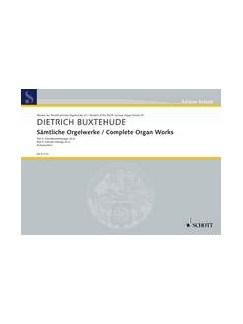 Dietrich Buxtehude: Complete Organ Works - Part 3 Books | Organ