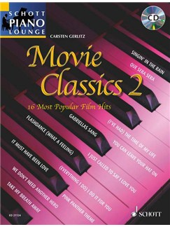 Carsten Gerlitz: Movie Classics 2 Books and CDs | Piano