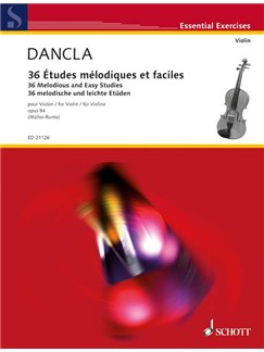 Charles Dancla: 36 Études Mélodiques Et Faciles Books   Violin