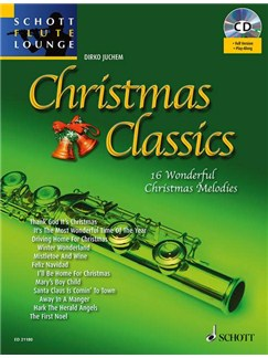 Dirko Juchem: Christmas Classics For Flute Books and CDs | Flute