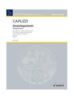 Antonio Capuzzi: String Quintet G Op.3/6 Books | String Quintet