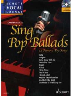 Carsten Gerlitz: Sing Pop Ballads Books and CDs | Piano & Vocal