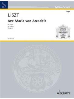 Franz Liszt: Ave Maria Von Arcadelt Books | Organ