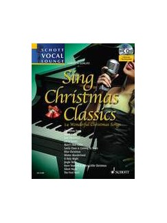 Sing Christmas Classics Books and CDs | Voice, Piano Accompaniment