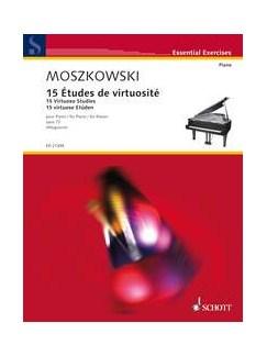 Moritz Moszkowski: 15 Virtuoso Studies, Op. 72 Books | Piano