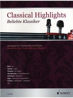 Classical Highlights - Cello/Piano Books | Cello, Piano Accompaniment