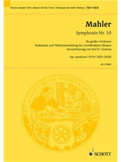 Gustav Mahler: Symphonie Nr. 10 Op. Posth. Books | Orchestra