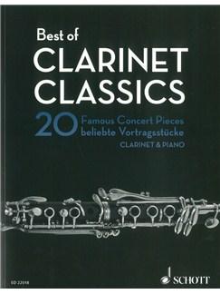Rudolf Mauz: Best Of Clarinet Classics Books | Clarinet, Piano Accompaniment