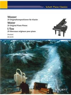 Water - 25 Original Piano Pieces Books | Piano