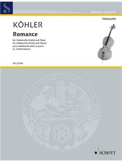 Wolfgang Koehler: Romance Books | Cello, Piano Accompaniment