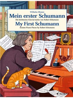 My First Schumann: Easiest Piano Pieces By Robert Schumann Books | Piano