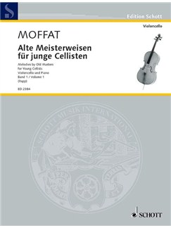 Alte Meisterweisen Fur Junge Cellisten (Melodies By Old Masters For Young Cellists) Books | Cello, Piano Accompaniment