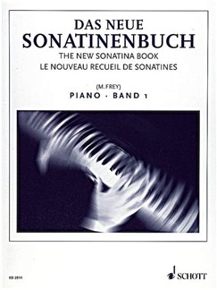 The New Sonatina Book Vol.1 Books | Piano