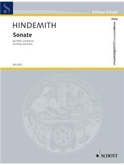 Paul Hindemith: Sonata For Flute And Piano Books | Flute, Piano Accompaniment