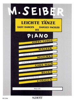 Mátyás Seiber: Easy Dances Volume 2 Books | Piano, Piano Duet